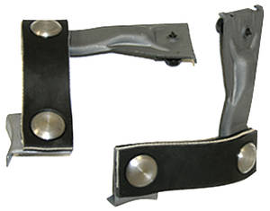 "1968-1969 Chevelle Exhaust Hangers (Chevelle) Tail Pipe (Dual Exhaust) w/Resonators (2"", 2-1/4"" & 2-1/2"" or Larger)"