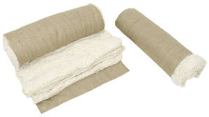 1969-72 Grand Prix Seat Cotton & Burlap Set (Rear Seat)