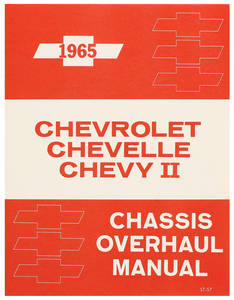 1965-1965 Chevelle Chassis Overhaul Manual