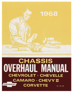 1968 Chevelle Chassis Overhaul Manual