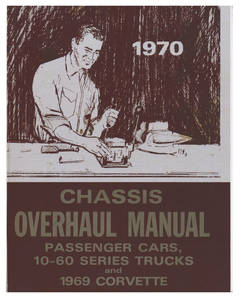 1970-1970 Chevelle Chassis Overhaul Manual