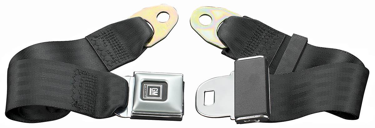 Photo of Seat Belts, 1966-77 Rear Starburst