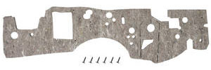 1973-77 Firewall Insulation Pad, Original Style Grand Prix, w/AC