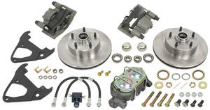 "1964-1972 GTO Brake Conversion, Disc (for 14"" Wheels) Non-Power, by SSBC"