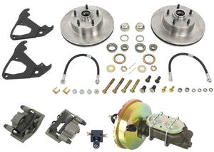 "1964-1972 El Camino Brake Conversion, Front Disc (for 14"" Wheels) Power, by SSBC"