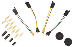 1968-1972 Chevelle Electrical Accessory Rear Body Connection Kit (El Camino/Wagon), by American Autowire