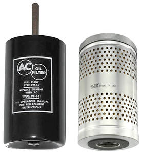 1964-67 El Camino Oil Filter & Canister