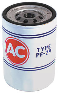 1968-69 El Camino Oil Filter, AC Delco PF-29, Long