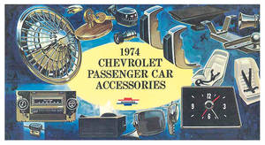 1971 Monte Carlo Chevrolet Accessory Sales Folder