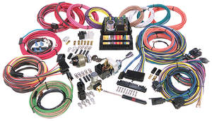 1962-1977 Grand Prix Wiring Harness Kit, Highway 15, by American Autowire