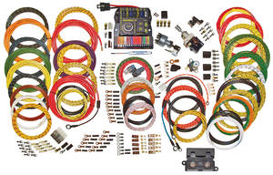 1964-77 Chevelle Wiring Harness Kit, Highway 15 Nostalgia, by American Autowire