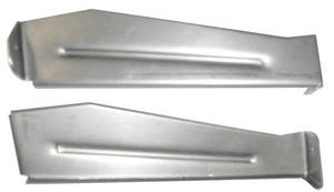 El Camino Grille Support Brackets, 1967 Vertical