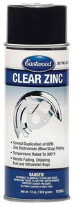 Enamel Paint, Clear Zinc 12-oz.