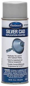 1964-1977 Chevelle Silver Cad Paint 12-oz., by EASTWOOD