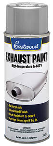 1962-1977 Grand Prix Exhaust Component Paint 10-oz., by EASTWOOD