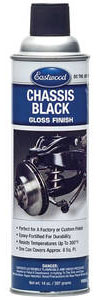 1961-1973 LeMans Original Chassis Black Paint Gloss, 14-oz. Aerosol, by EASTWOOD