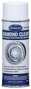 Diamond Clear Top Coat Painted Surface Gloss, 11-oz., by EASTWOOD