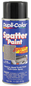 1964-1966 Chevelle Trunk Spatter Paint Gray/White, 11-oz.