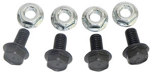 1964-77 Chevelle Shock Hardware, Upper Rear