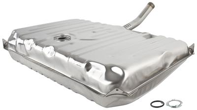1970-72 Chevelle Fuel Tank w/o EEC, w/o Vents (Shallow-Type Cap)