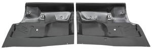 1968-72 Cutlass Floor Pan, Steel (Under The Rear Seat) Half (Import)