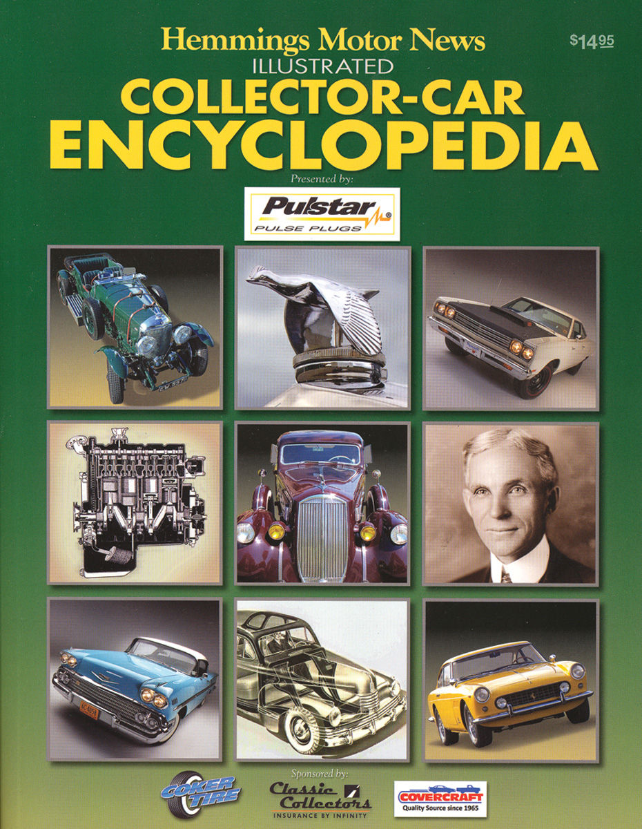 Photo of Hemmings Motor News Illustrated Collector-Car Encyclopedia