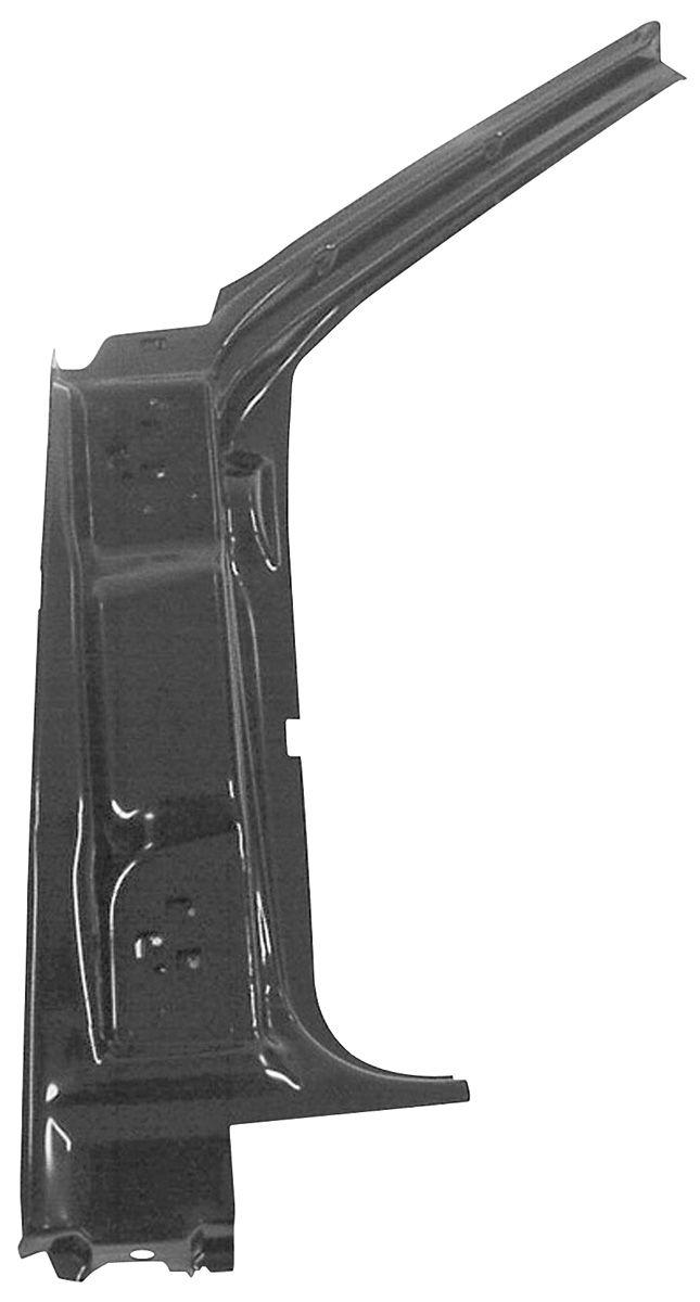 1966 67 Chevelle Door Hinge Pillar Assembly 1966 67 For