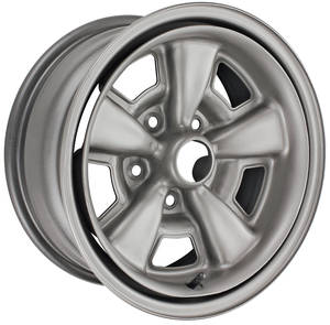 "1971-1972 El Camino Wheel, Five-Spole Rally (Steel) Super Sport 15"" X 7"" (BS 4-1/4"")"