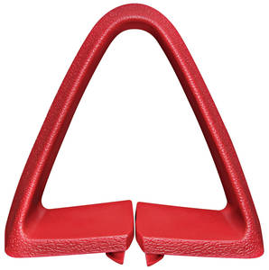 1973 LeMans Seat Belt Loop Guide Triangle