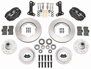 "1964-72 El Camino Brake Kits, Forged Dynalite Pro Series 11"" Front Plain Rotors"