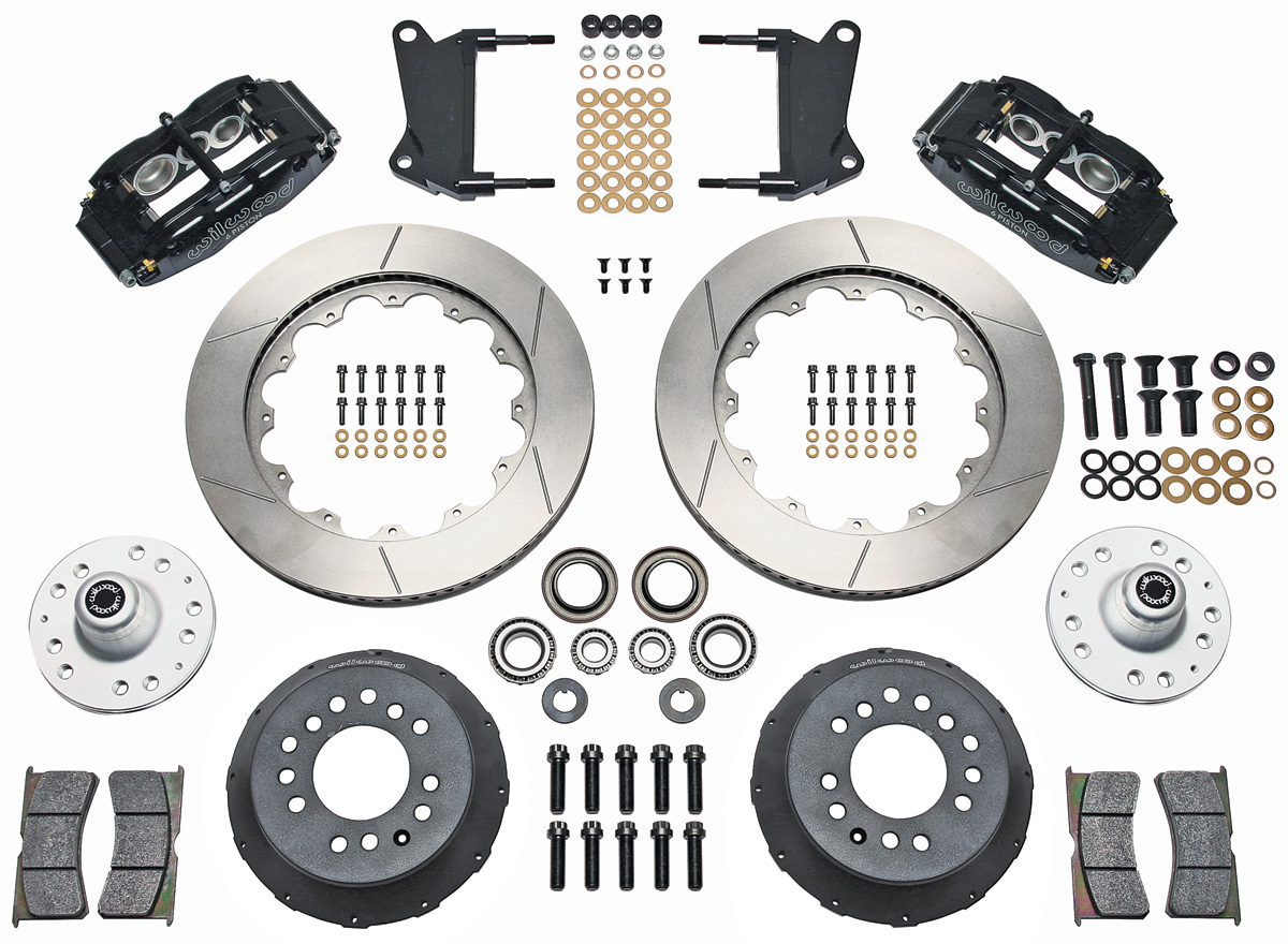 "Photo of Brake Kit, Superlite 6-Piston Front (Big Brake) 14"" Slotted Rotors"