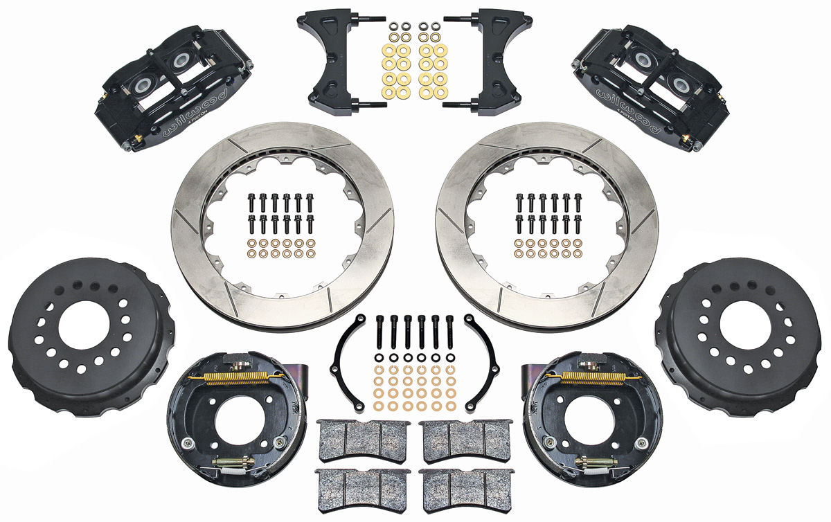 "Photo of Brake Kit, Superlite 13"" Rear Disc slotted rotors"