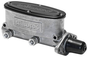 "1962-1977 Grand Prix Master Cylinder, Aluminum Tandem 1-1/8"" Bore, by Wilwood"