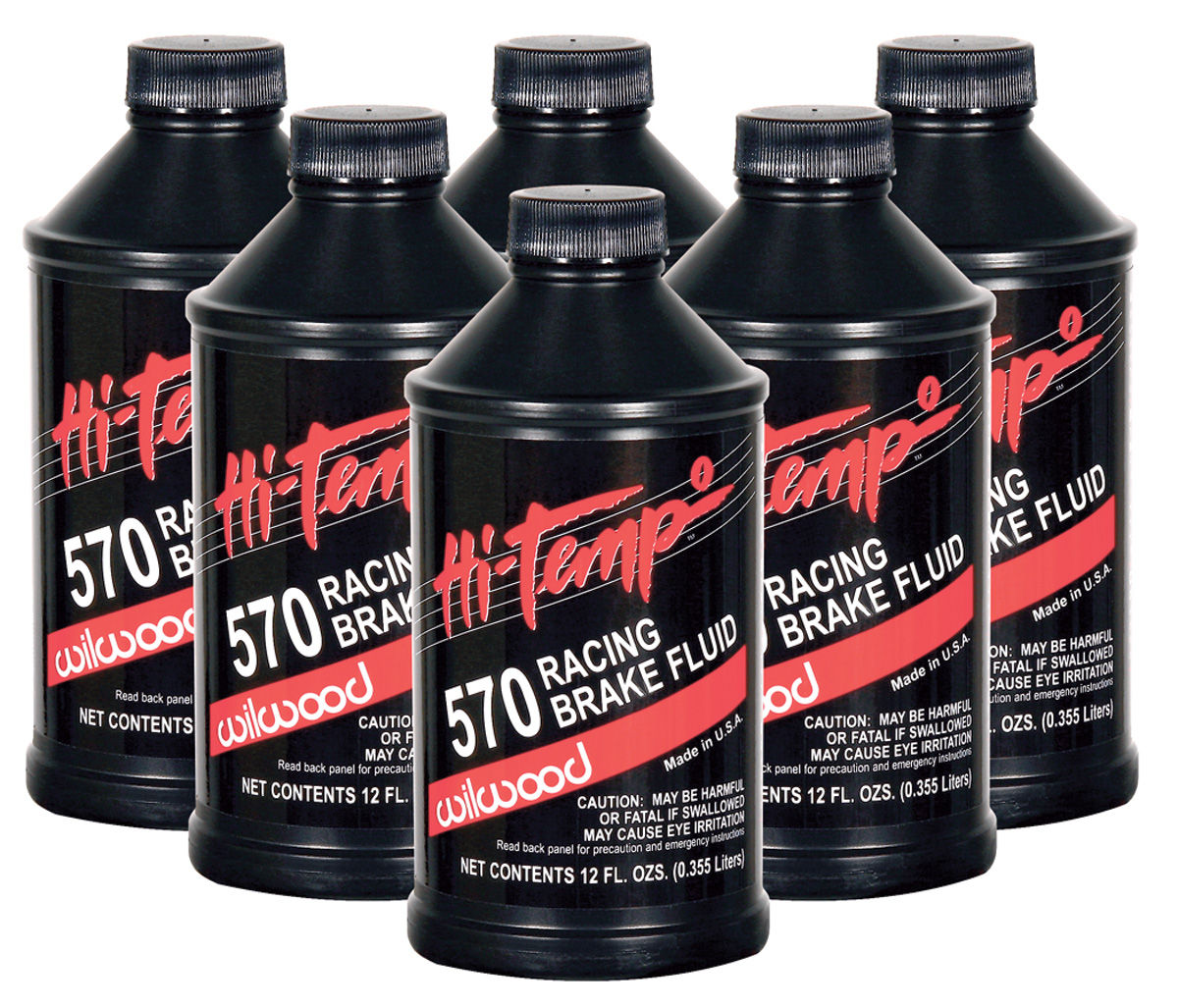 Photo of Brake Fluid high-temp (6-pack)