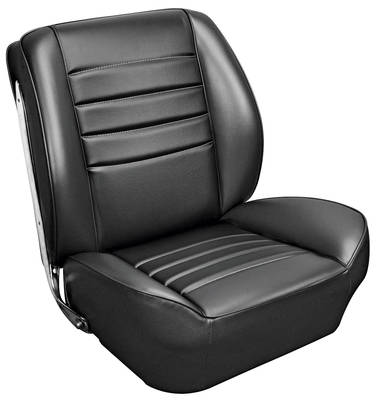 1965 Chevelle Sport Seats Front Bucket Upholstery and Foam W/Coupe Rear Upholstery Only