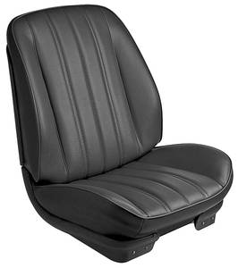 1966-1966 Chevelle Sport Seats Front Bucket Upholstery and Foam W/Coupe Rear Upholstery Only, by TMI