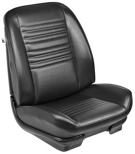1967-1967 Chevelle Sport Seats Front Bucket Upholstery and Foam W/Coupe Rear Upholstery Only, by TMI