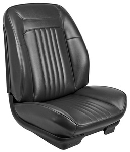 1971-72 Chevelle Sport Seats Front Bucket Upholstery and Foam W/Convertible Rear Upholstery Only