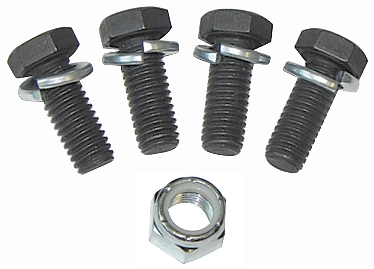 Photo of Steering Gearbox Cover Bolts Power, 5 Pieces (Non-Flanged, with Lock Washers)