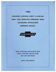 1966-1966 El Camino Accessory Installation Manual