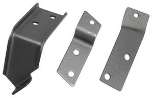 Chevelle Heater Cable Brackets, 1968-72
