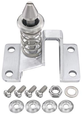 1968-1969 El Camino Hood Latch Catch Assembly, Billet Aluminum, by Eddie Motorsports