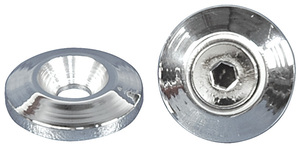"1954-1976 Cadillac Accent Washer, Billet Aluminum Counter Sunk 5/16"" X 1-1/4"", by Eddie Motorsports"