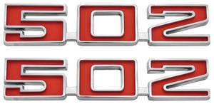 "Chevelle Fender Emblem, 1969-72 ""502"" Studs"