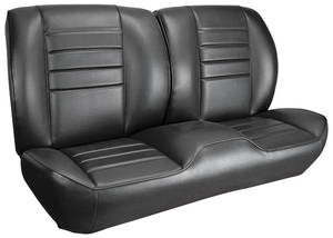 1965-1965 Chevelle Sport Seats Front Bench Upholstery and Foam W/Coupe Rear Upholstery Only, by TMI