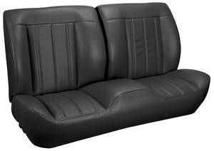 1966 Chevelle Sport Seats Front Bench Upholstery and Foam W/Coupe Rear Upholstery Only