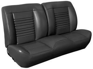 1967 Chevelle Sport Seats Front Bench Upholstery and Foam W/Coupe Rear Upholstery Only, by TMI