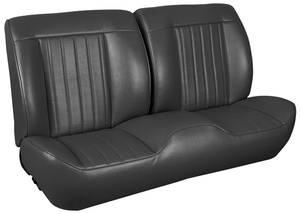 1968 Chevelle Sport Seats Front Bench Upholstery and Foam W/Coupe Rear Upholstery Only, by TMI