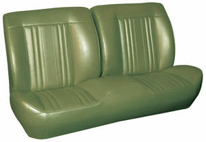 1969 Chevelle Sport Seats Front Bench Upholstery and Foam W/Coupe Rear Upholstery Only