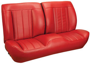 1966 Chevelle Sport Seats Front Bench Upholstery and Foam W/Convertible Rear Upholstery Only
